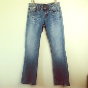 Rerock for Express light wash Boot Jeans